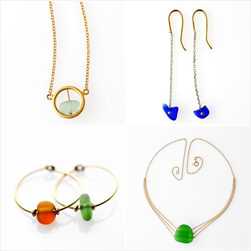 collane ed orecchini della collezione