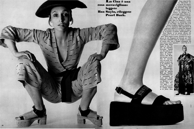 zeppa vogue italia 1970