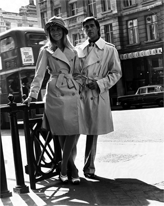 trench Burberry - Londra 1973