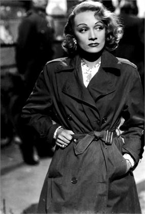 trench - Marlene Dietrich Scandalo Internazionale 1948