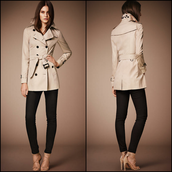 trench - The Sandringham corto Burberry