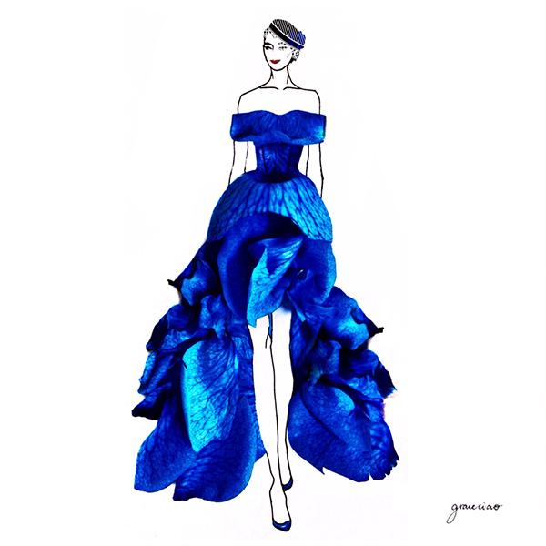 grace ciao - rosa blu