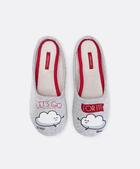 mr wonderful per oysho - pantofole