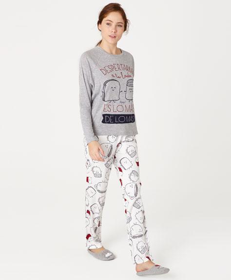 mr wonderful per oysho - pigiama madeleine