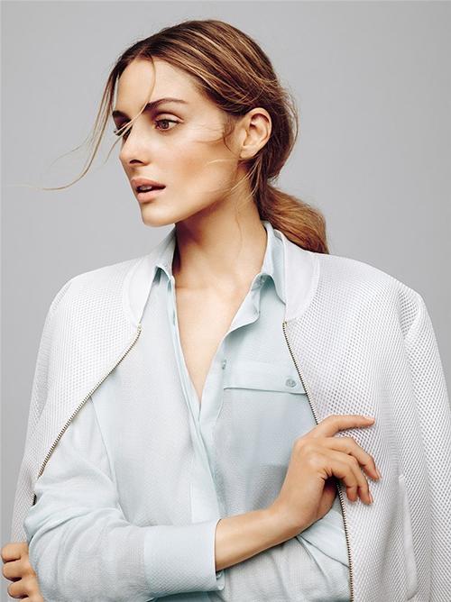 Olivia Palemo per Max&Co - camicia azzurra