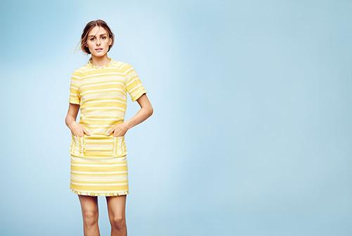 Olivia Palemo per Max&Co - vestito righe giallo