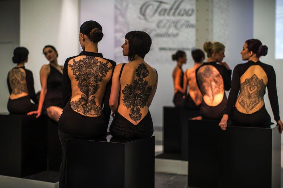 mostra tatuaggi di Marco Manzo