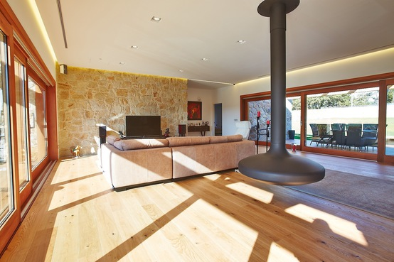 Pareti In Pietra E Legno : Decorare la casa pareti in legno pietra coolfashionstyle