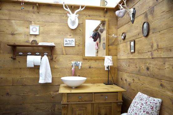 Decorare la casa pareti in legno pietra   coolfashionstyle.it