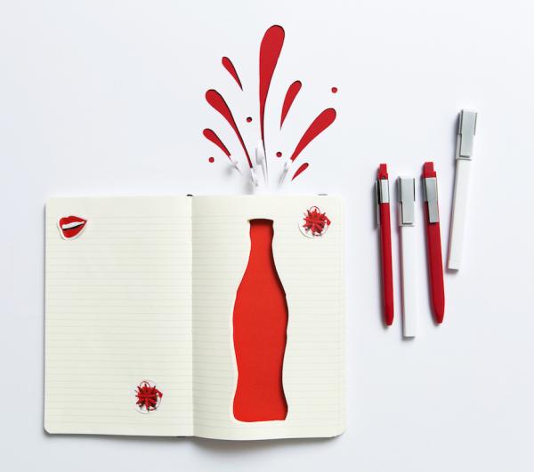 moleskine e coca-cola