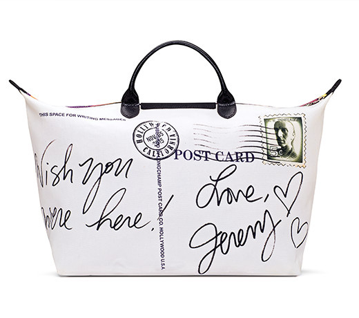 La Pliage by Jeremy Scott for Longchamp limited edition