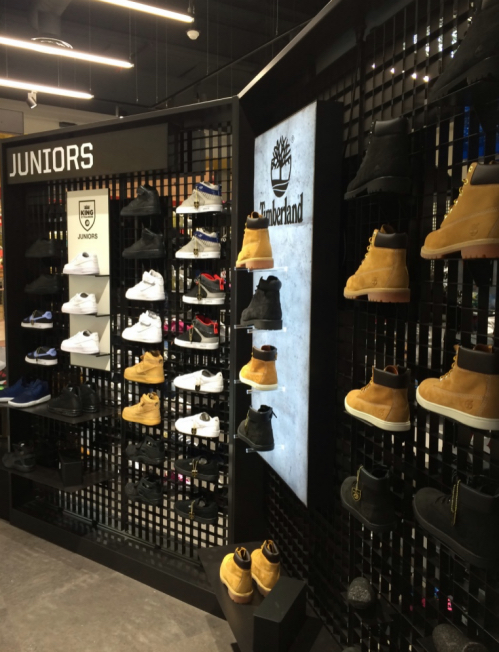 JD Sports Catania timberland