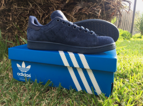 Stan Smith blue suede