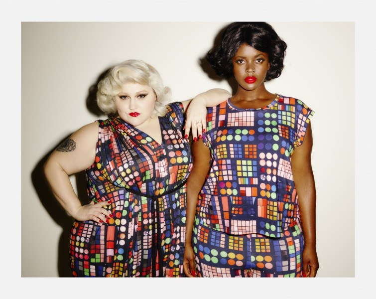 Beth Ditto - Double Bubble Dress, Summerweight Tee and Summerweight Leggings