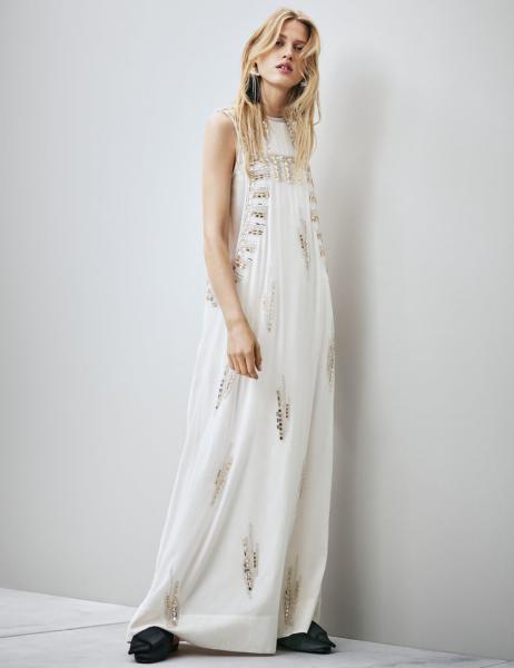 hm conscious collection - wedding dress