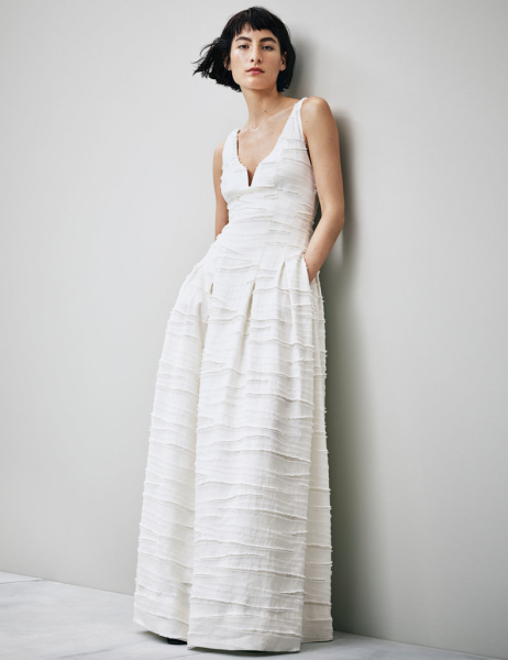 hm conscious collection - wedding dress