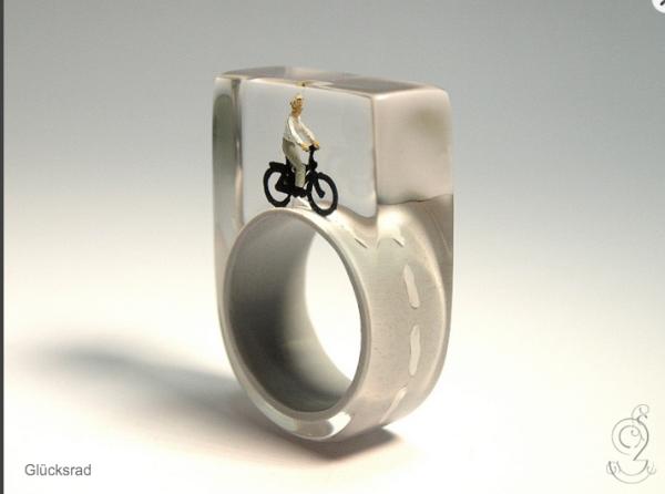 anelli in resina