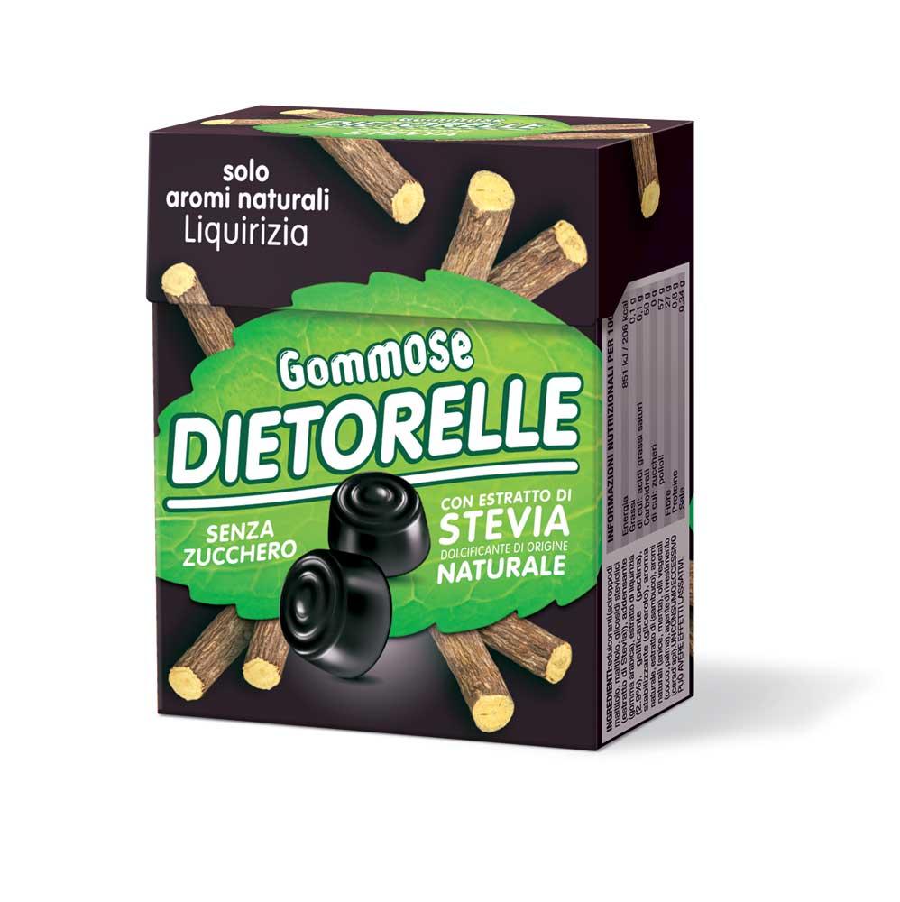 DIETORELLE gommose liquirizia pack