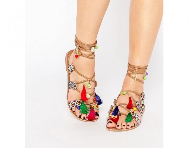 sandali boho - asos
