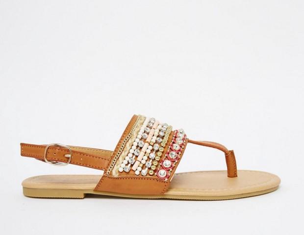 sandali boho - new look