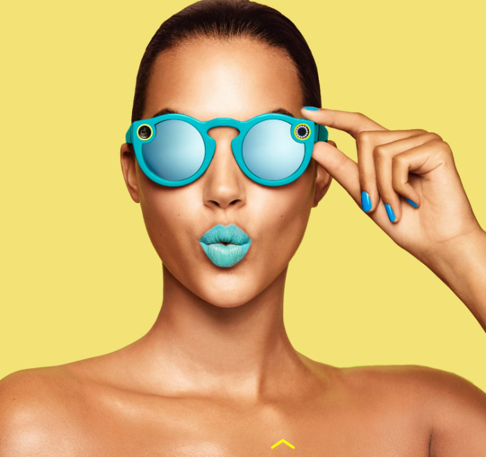 spectacles blue girl