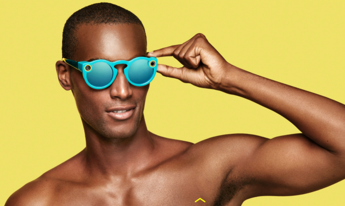 spectacles blue man