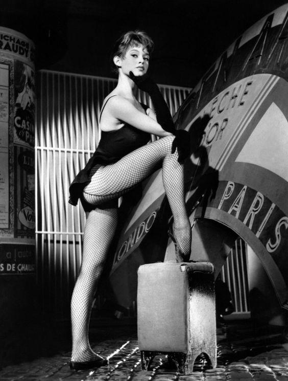 Brigitte Bardot fishnet