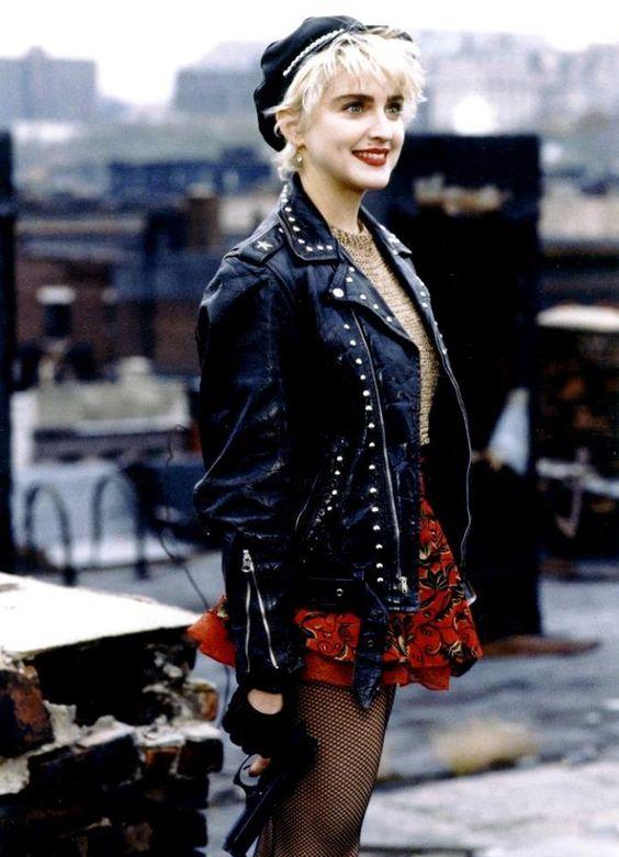 Madonna fishnet