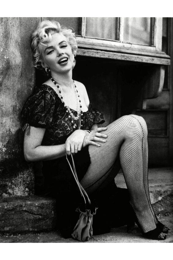 Marilyn fishnet
