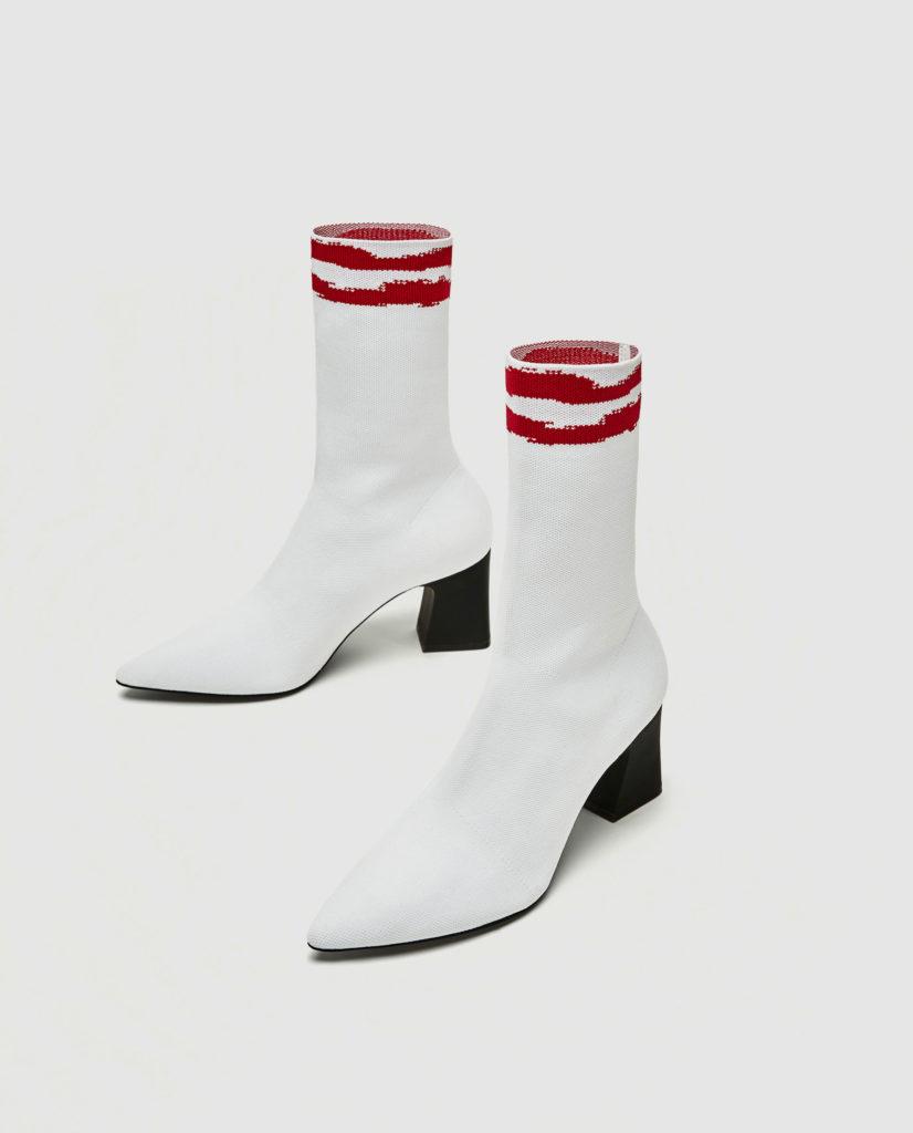 scarpe calzino zara