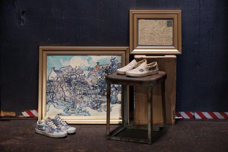 Vans X Van Gogh - manoscritto vigneto