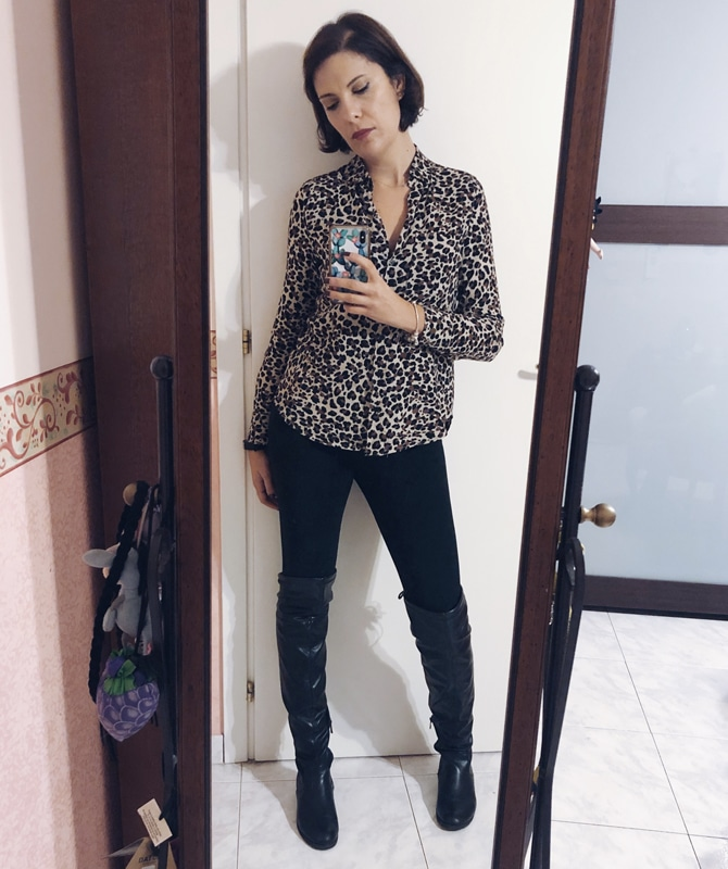 rossella scalzo animalier outfit coolfashionstyle