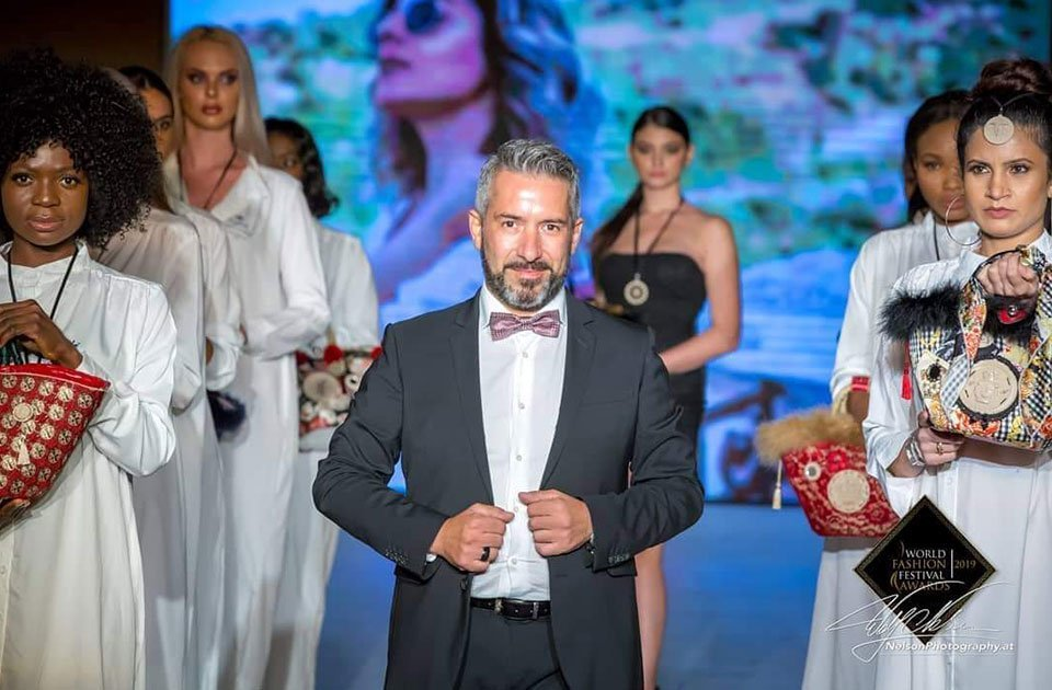 Roberto Caggia al World Fashion Festival Award