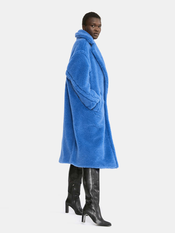 Teddy bear coat Max Mara buette