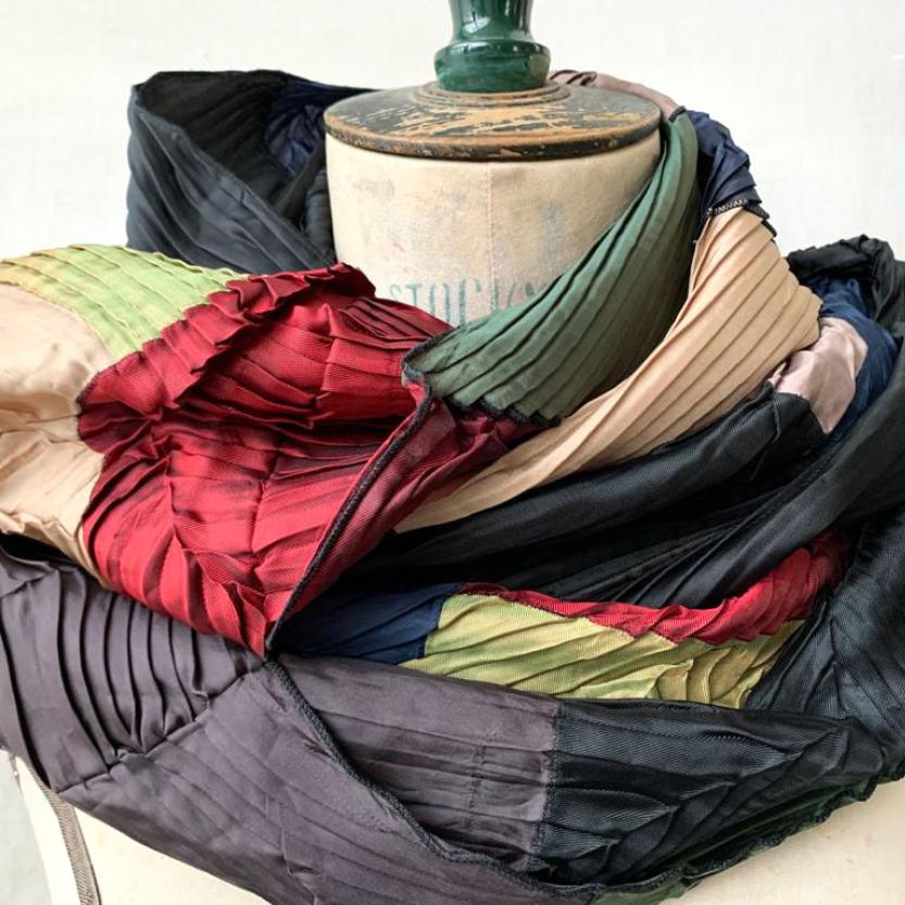 sciarpa multicolor eugenio vazzanno stilista siciliano