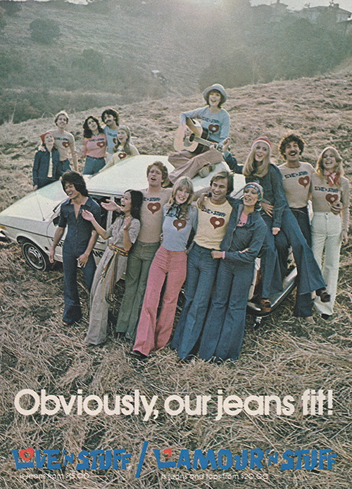 moda denim anni 70
