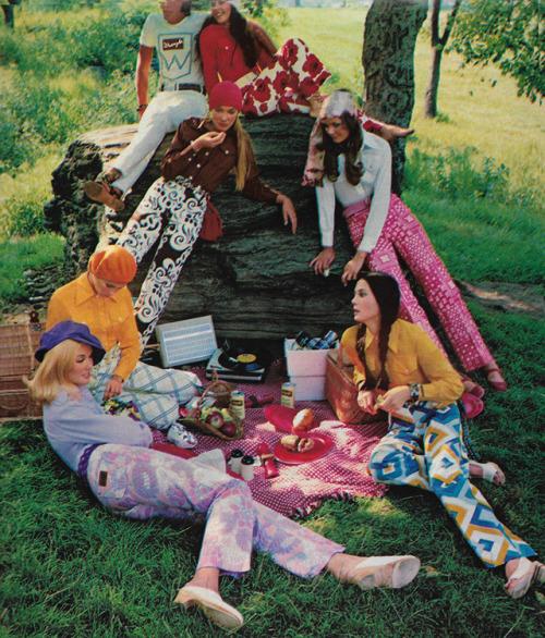 moda hippy anni 70